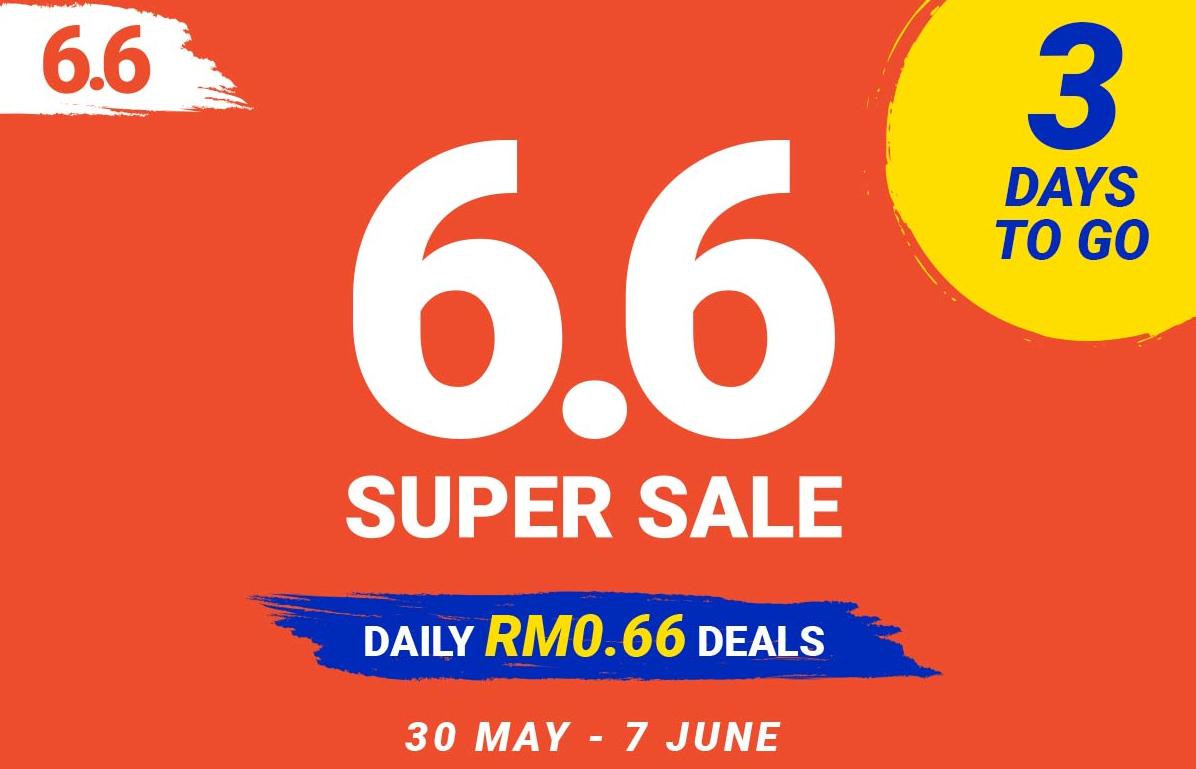Shopee 6 6 Super Sale Mypromo My