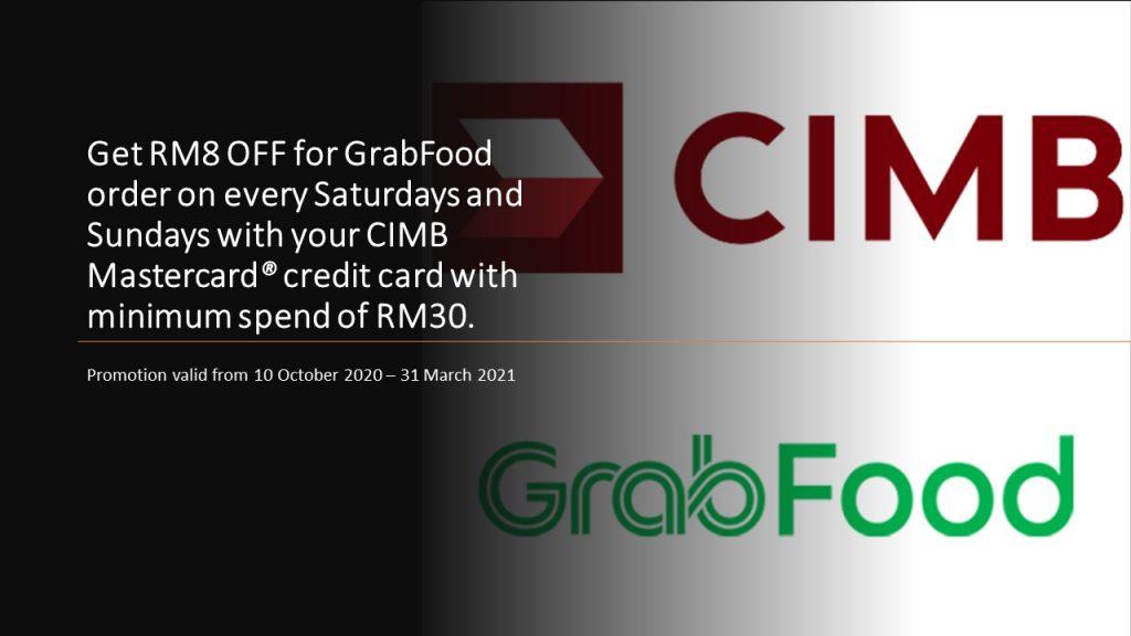 Grabfood x CIMB