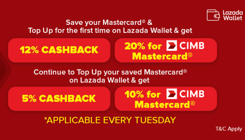 Lazada Mastercard Tuesday