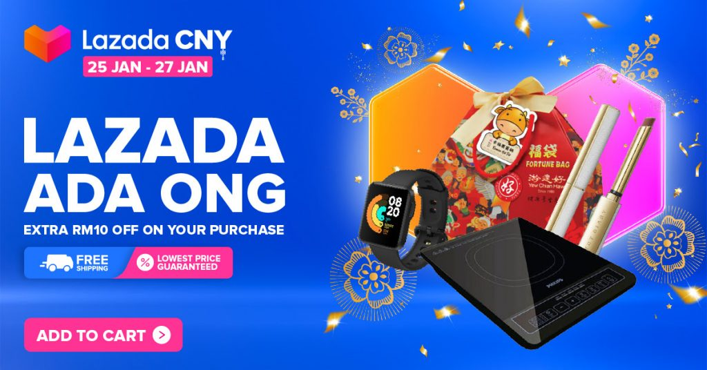 Chinese New Year With Lazada Ada Ong 2021