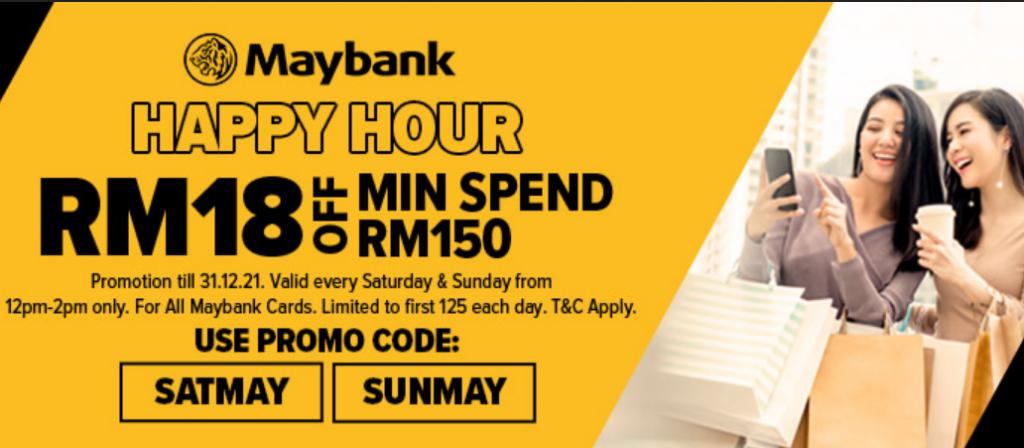 Maybank Happy Hour