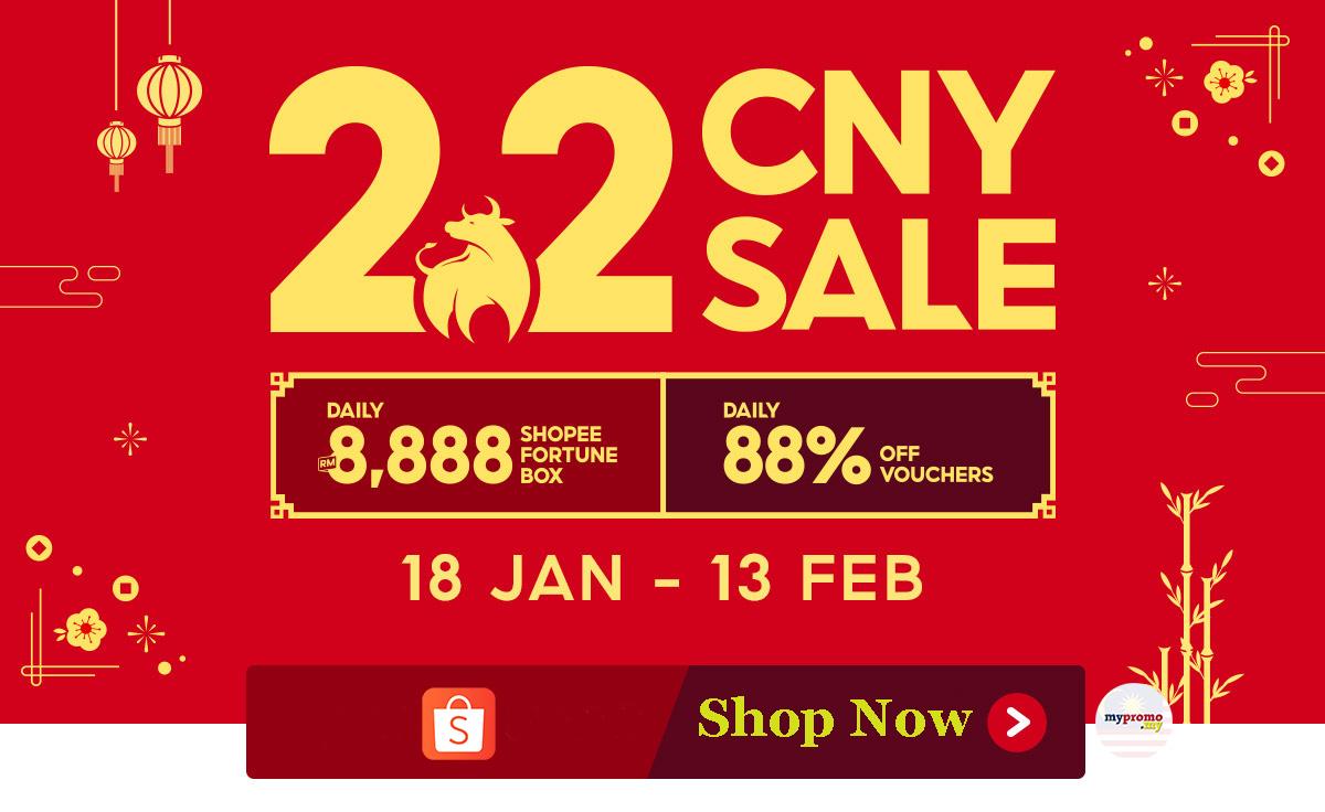 Shopee 2.2 CNY Sale | mypromo.my