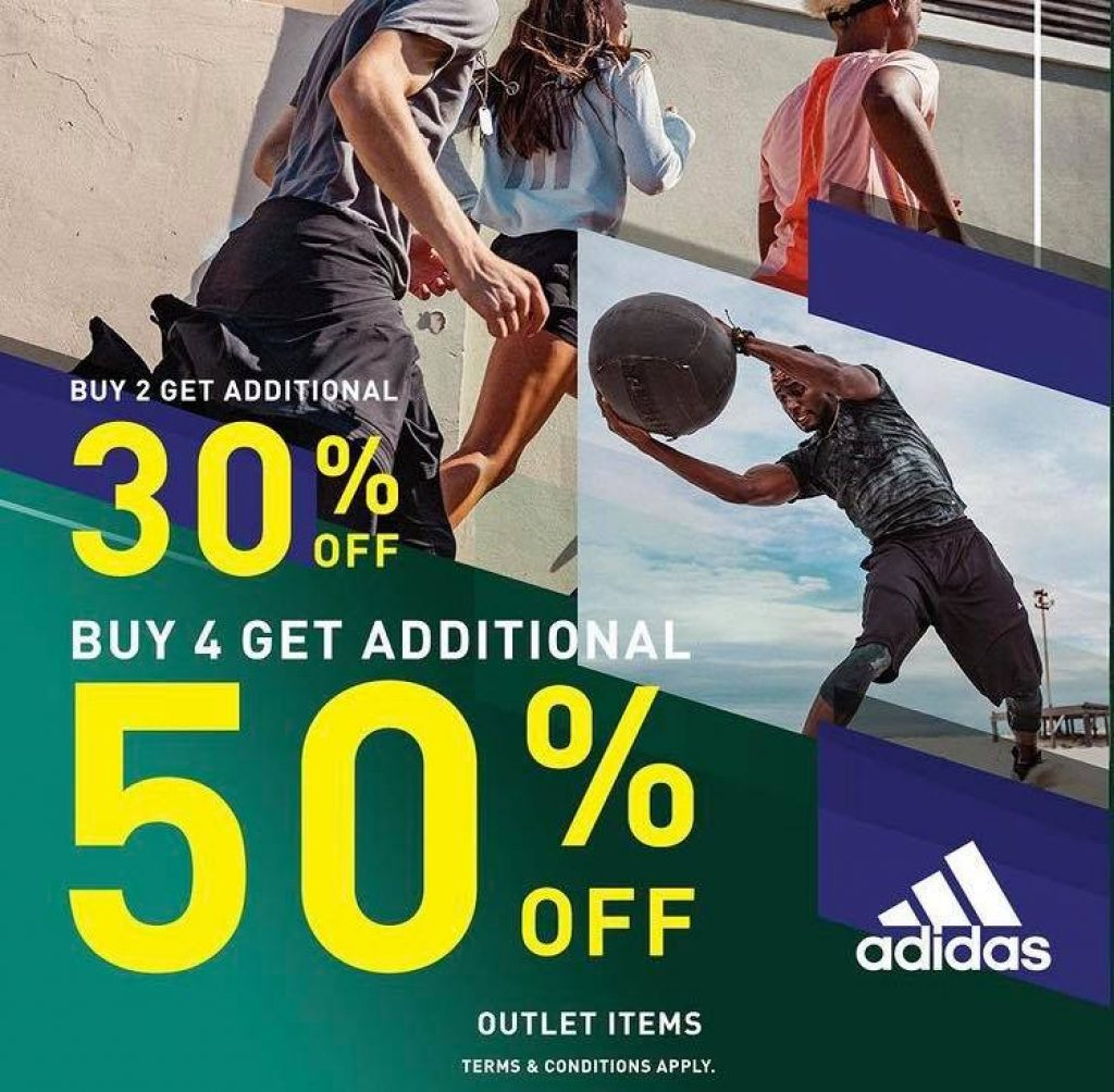 Adidas BUY 4 AND GET 50% OFF!