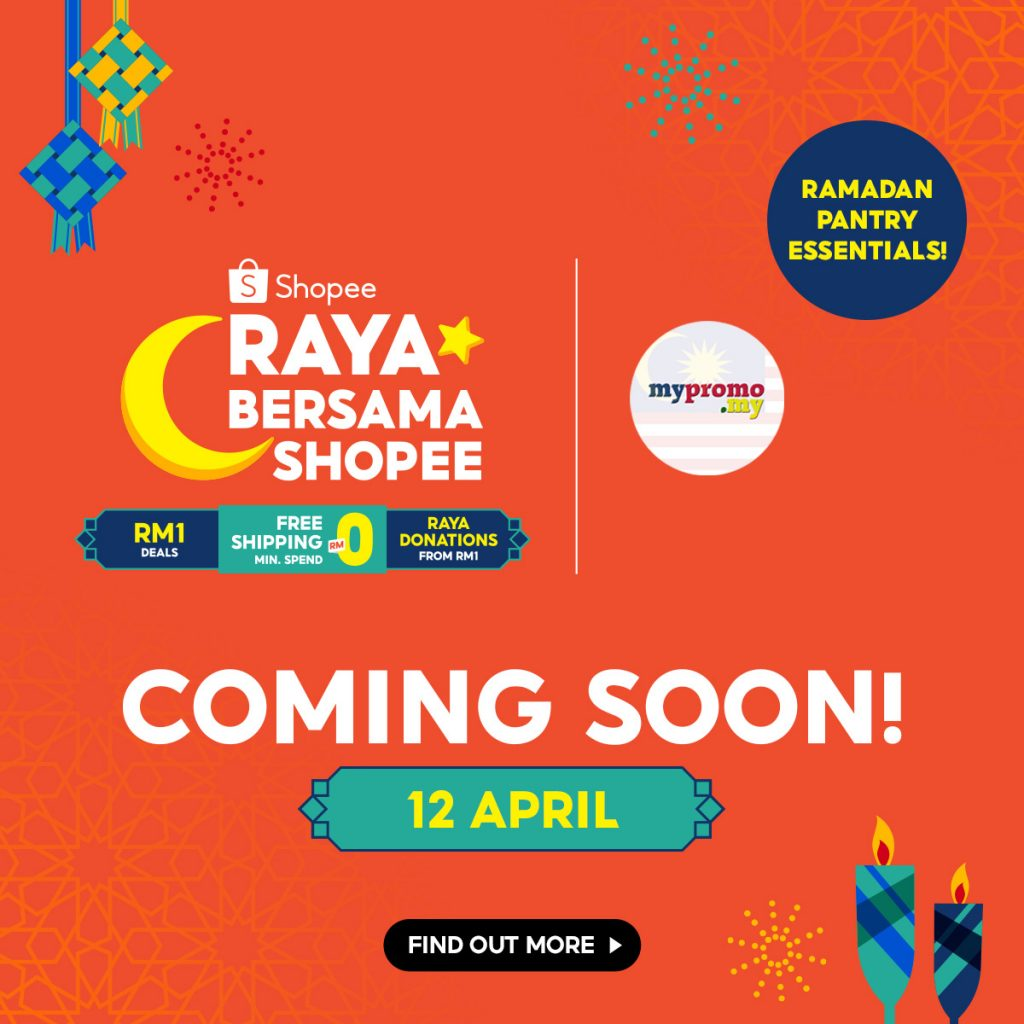 Raya Bersama Shopee x mypromo