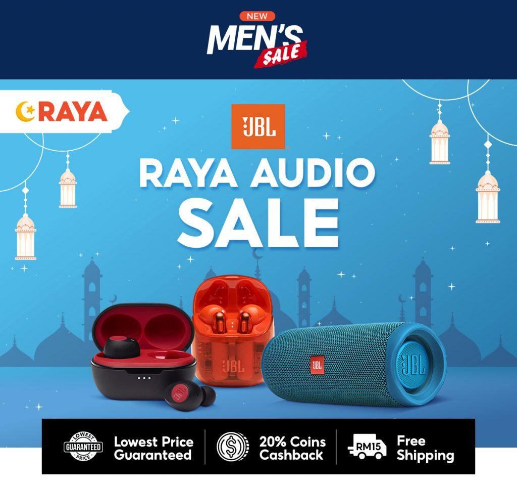 Shopee Raya Men's Sale - JBL