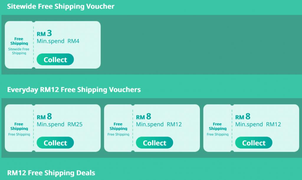 Lazada Free Shipping