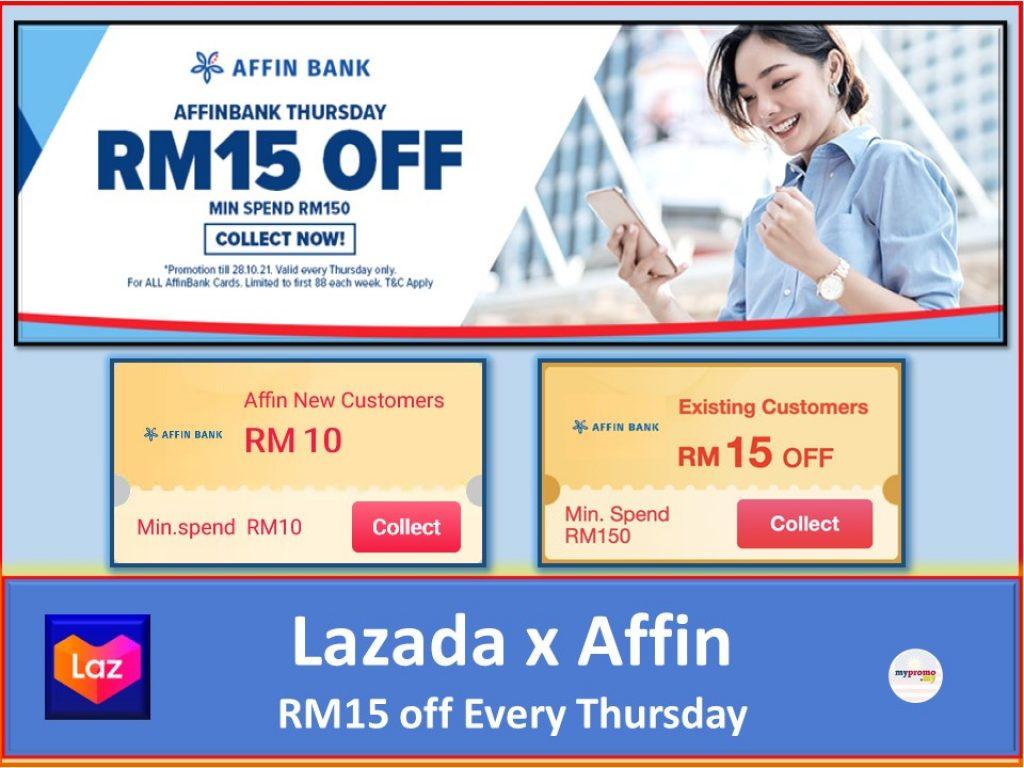 Lazada x Affin Bank Thursday Promotion
