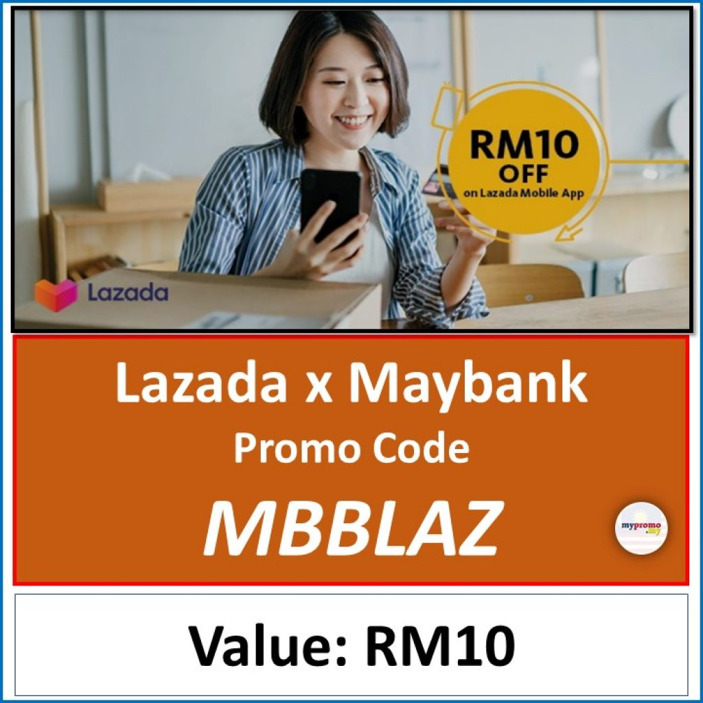 Lazada Stay Safe & Shop from Home Sale with Maybank