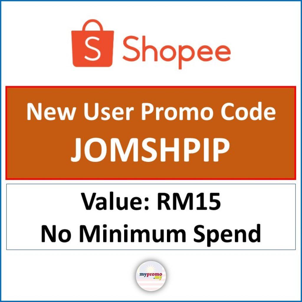 Shopee Voucher Code for New User - Enjoy RM15 Discount