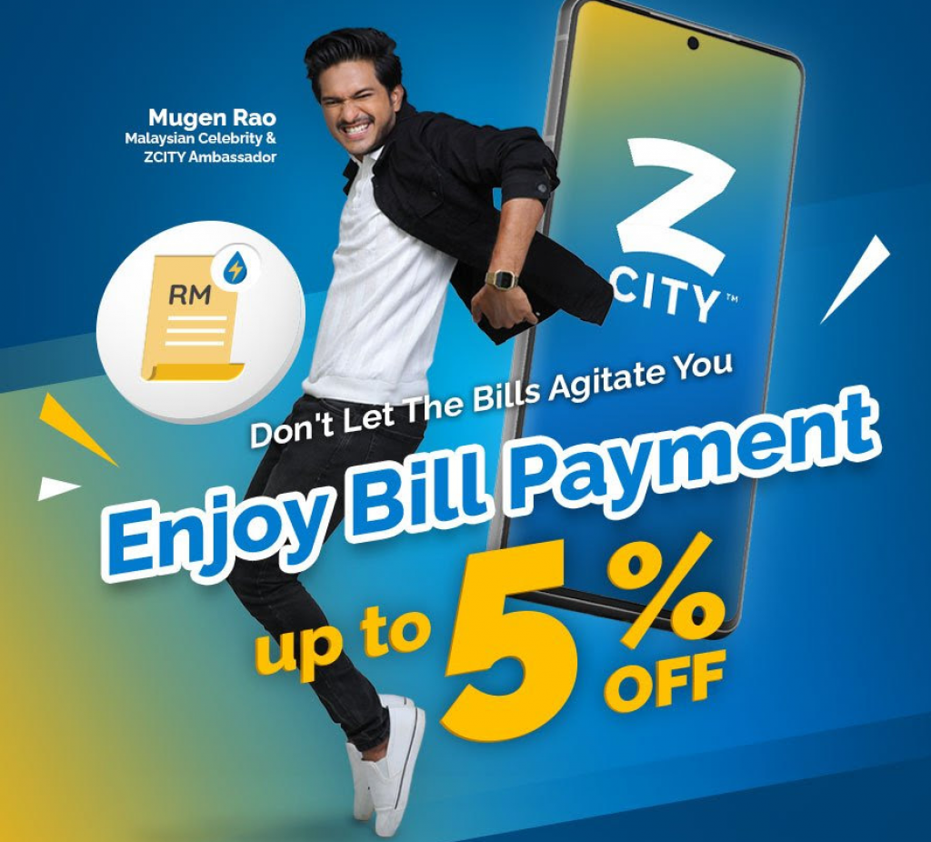 ZCity x Enjoy up to 5% discount on Monthly Bill