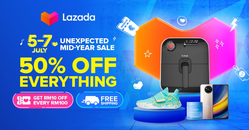 Lazada 7.7 Voucher, Offers and Promotions