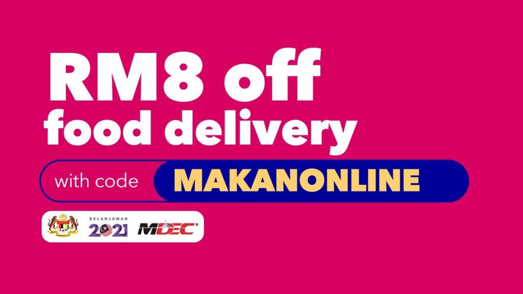 foodpanda Voucher Code: MAKANONLINE