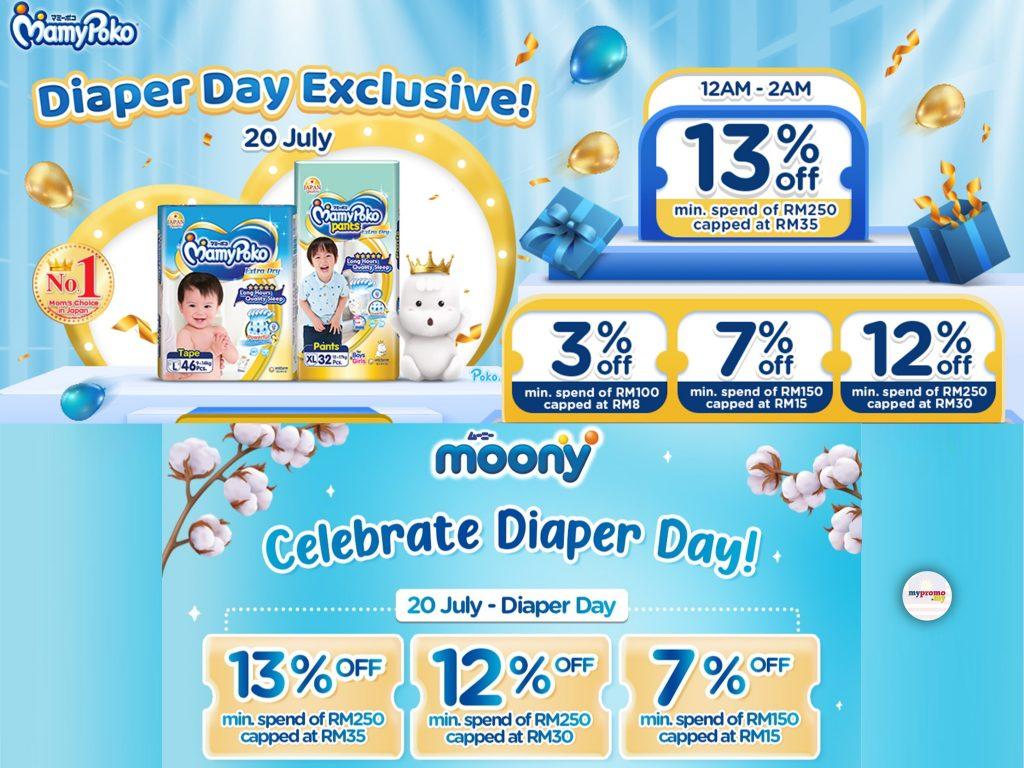 Lazada Diaper Day