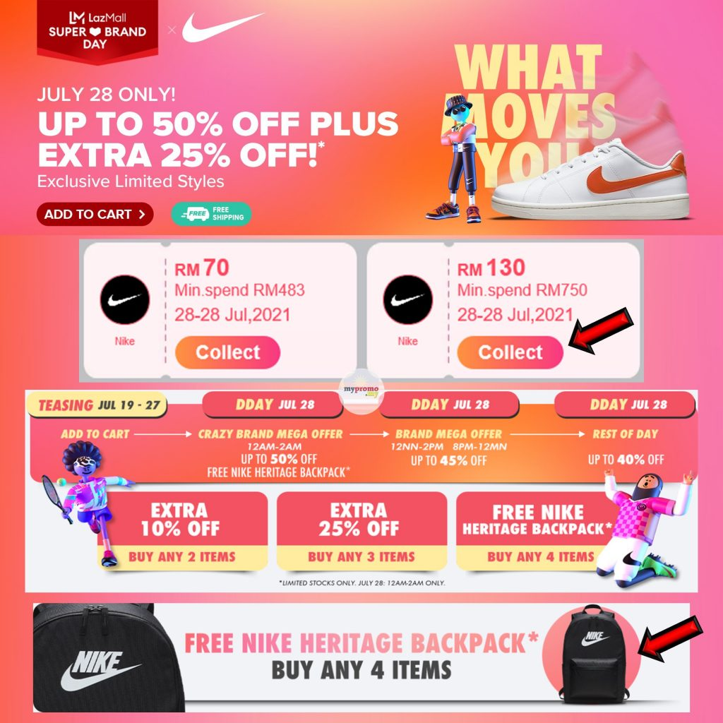 LazMall x Nike Super Brand Day!