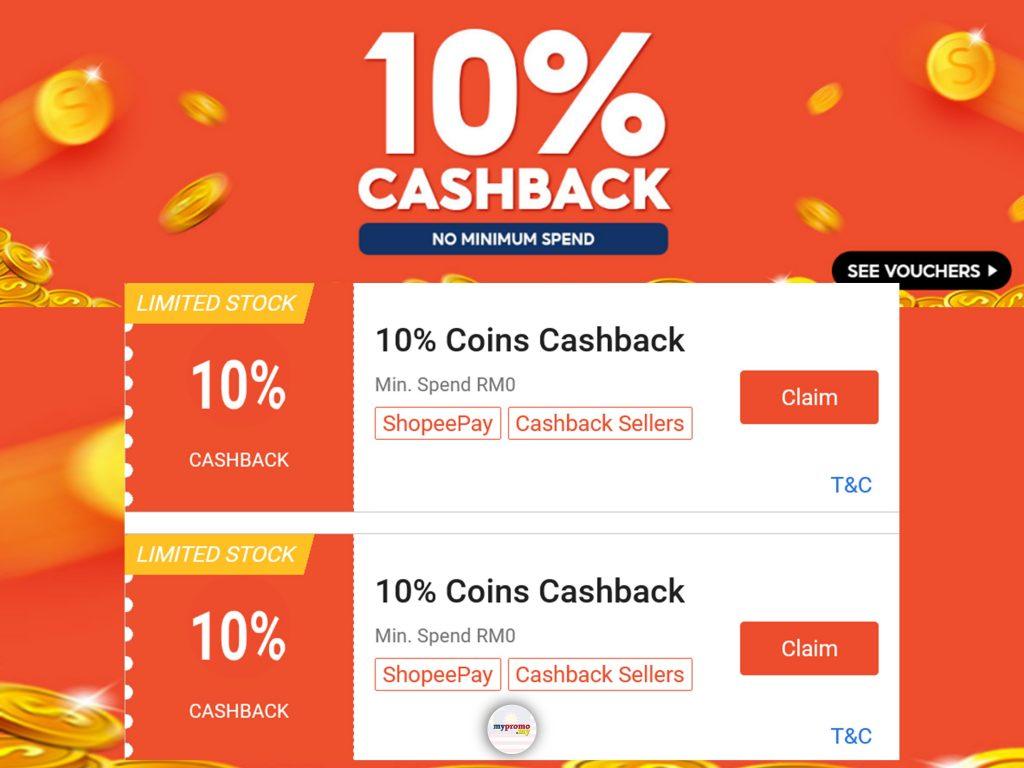 Shopee x Cashback Vouchers