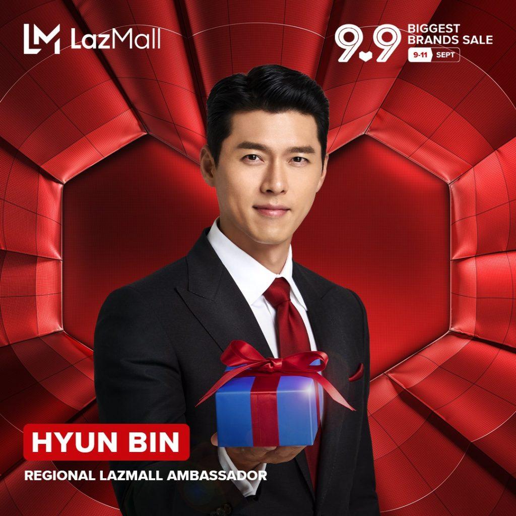 LazMall 9.9 x Brand Ambassador: Hyun Bin?
