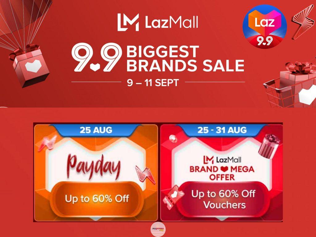 Lazada 9.9 x Payday Sale