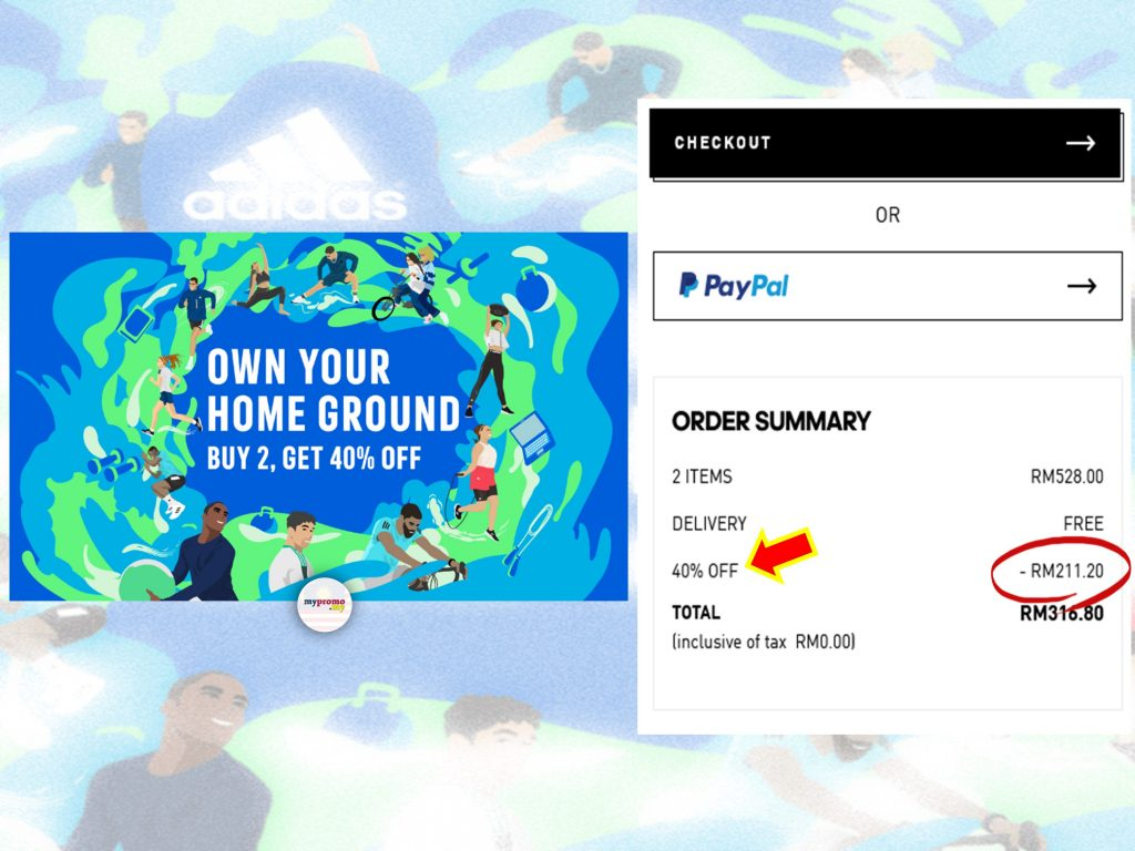 Adidas 8.8 x Own Your Home Ground Sale
