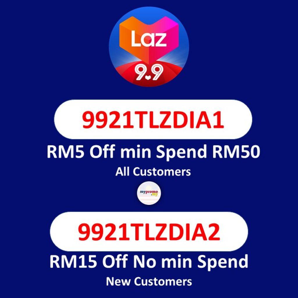 Lazada9.9 Special Vouchers