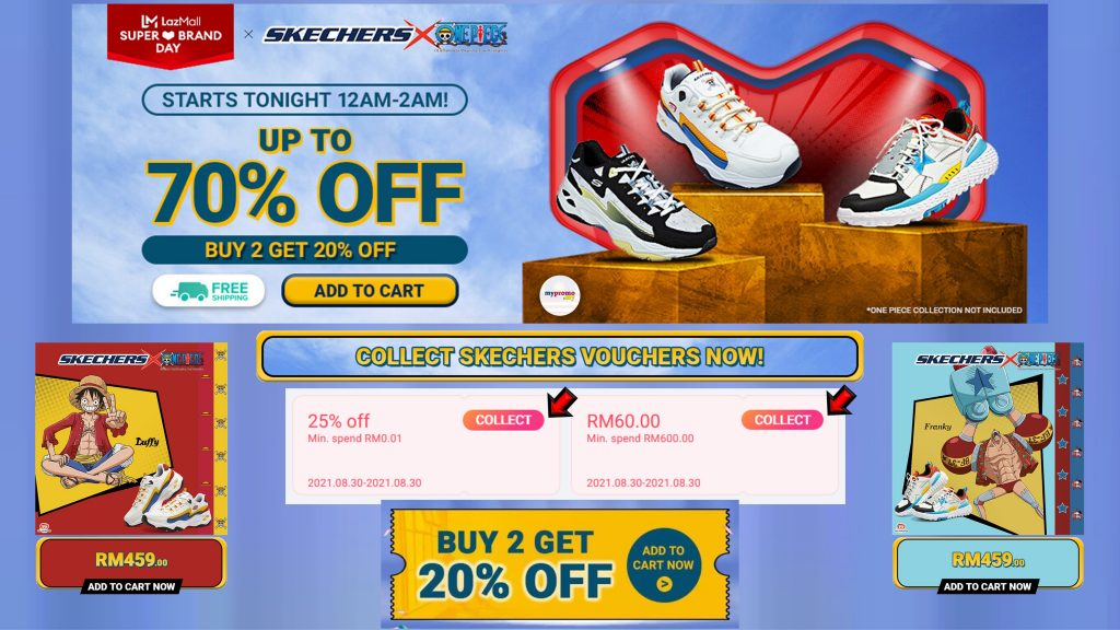 SKECHERS X ONE PIECE® COLLECTION AT THE LAZADA SUPER BRAND DAY