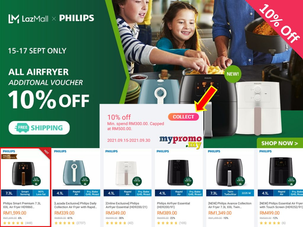 Lazada x Philips Air Fryer