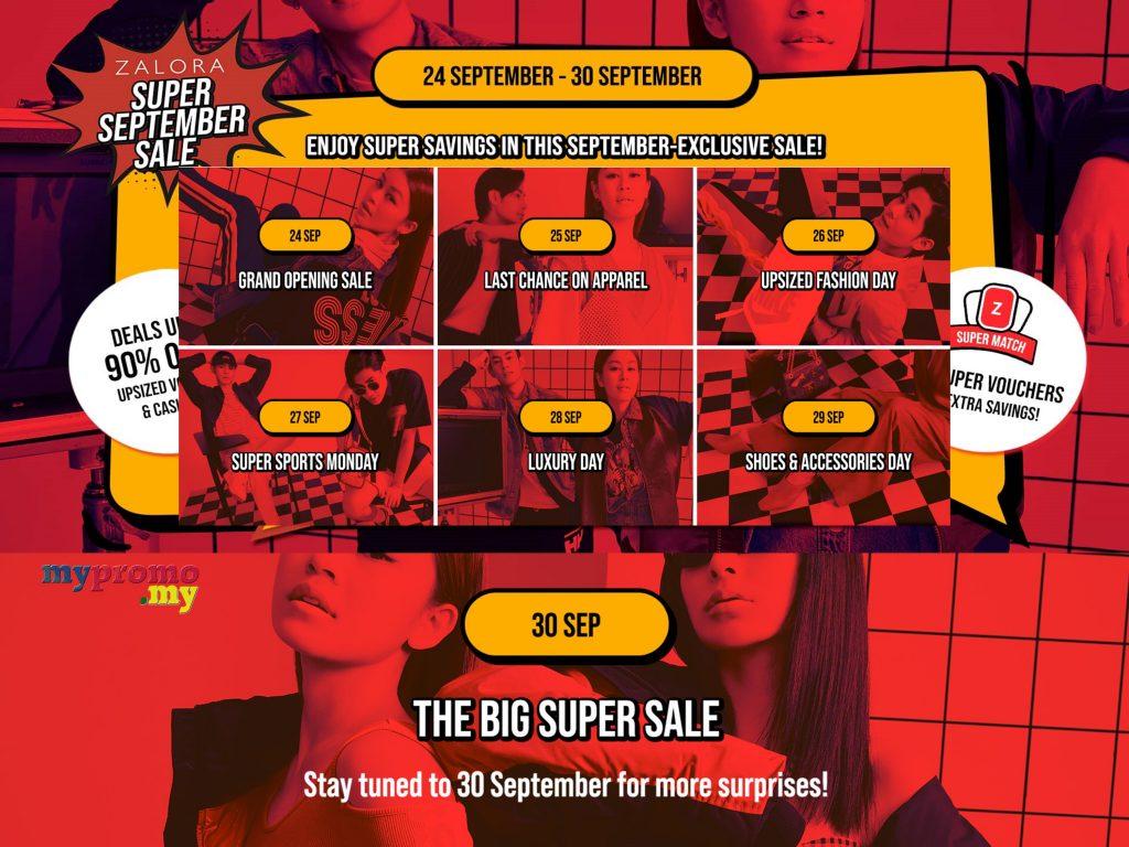 ZALORA Super September Sale