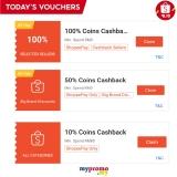 Shopee 10.10 – Claim Everyday Vouchers