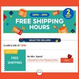 Shopee 9.9 – Free Shiping Voucher 12pm