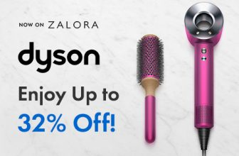 Dyson: Now on Zalora- Enjoy up to 32% OFF + RM150 Voucher Code