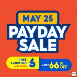 Shopee 6.6 Awesome Sale: 25 May PayDay Sale-Vouchers and Offers