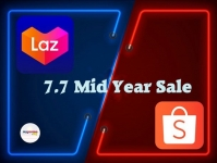 Shopee + Lazada: 7.7 Mid Year Sale