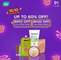 [Watsons x Lazada] 3 days pre-sale for 10.10 Online Power Sale is here!