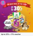 Whiskas x Lazada 11.11 After-Party Sales