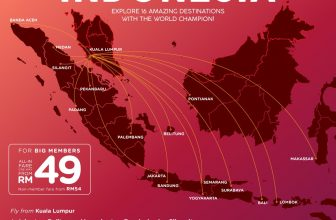 AirAsia: MAJOR SALE ALERT! 1 COUNTRY, 16 DESTINATIONS,  1 AIRLINE