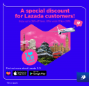 Lazada x Mas Airlines Promo: enjoy up to 35% OFF your fares