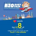 Lazada Big Baby Fair Promo with Touch 'n Go eWallet