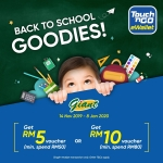 Giant Back To School Promotion – Touch 'n Go eWallet