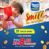 Touch 'n Go eWallet: TF Value Mart RM8.88 Cashback