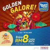 Touch 'n Go eWallet: Tesco RM8 Cashback