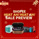 Shopee CNY Huat Sale! 13th January