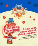 Touch 'n Go eWallet: e-huat, Cashback up to RM888