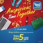 Touch 'n Go eWallet: Shop Online RM5 Cashback