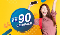 AEON Credit Card: Get RM90 Cashback with Lazada Wallet