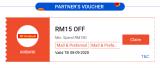 Shopee 9.9 x AmBank Card Voucher RM15