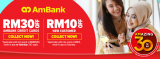 Lazada x AmBank Card Voucher Up To RM30 Off on Every Saturday