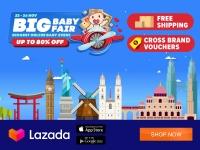 Lazada Big Baby Fair Promo List 22nd to 26th November 2019