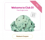 Baskin-Robbins Club31 Malaysia Rewards app