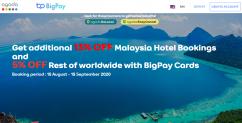 BigPay x Agoda Promotion  October, 2020