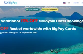BigPay x Agoda Promotion  January, 2021