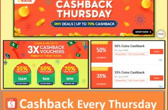 Shopee Cashback Thursday: Enjoy up to 70% Off Vouchers